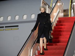 Theresa May Visits The United States Of America