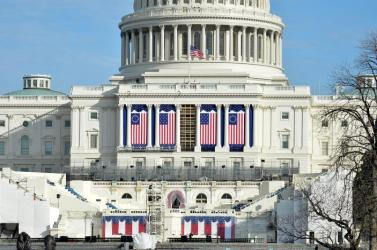 Preparations are finalized at US Capitol for Trump inauguration in Washington DC
